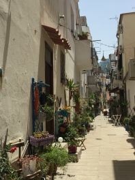 An alley in Casamicciola
